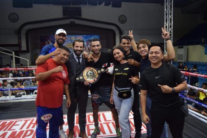 Jaber Zayani (nouveau champion WBO) : «C'était une guerre»