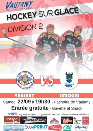 Les Grizzlys de Vaujany débutent leur championnat face à Limoges