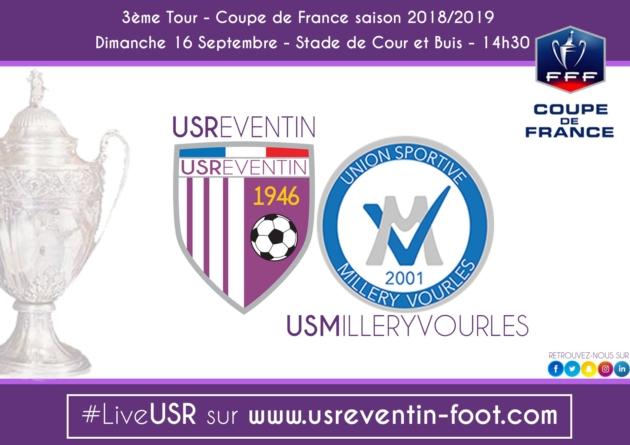 Coupe de France : US Reventin – US Millery Vourles en direct live ce dimanche