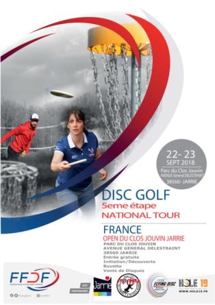 Open de disc golf du Clos Jouvin à Jarrie, les 22 et 23 septembre