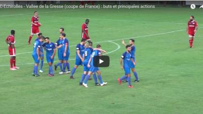 Résumé vidéo FC Echirolles – Vallée de la Gresse