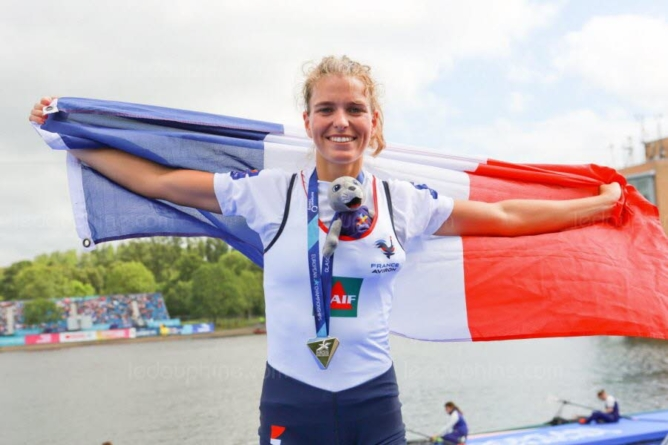 Laura Tarantola (Aviron Grenoblois) championne du monde !
