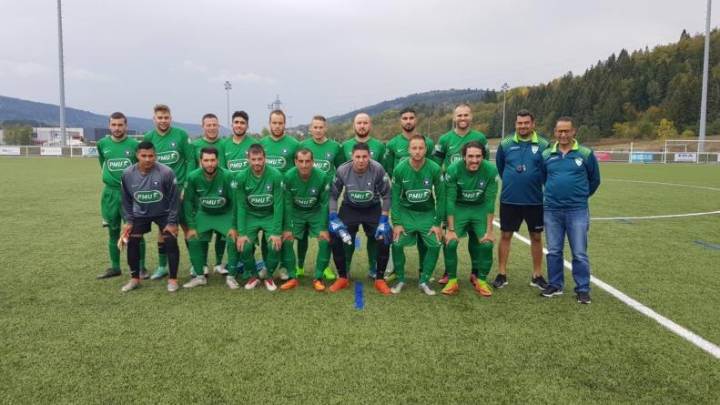 L'AS Vézeronce Huert poursuit son aventure en Coupe de France