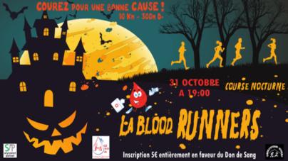 Rendez-vous le 31 octobre pour le 1er cross des Blood Runners