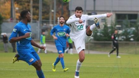 FC Echirolles : le groupe face à Rhône Vallées