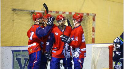 Première victoire de la saison pour les Yeti's Grenoble