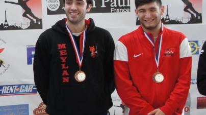 Rémi SENEGAS dans le top 5 du circuit national de sabre élite de GEMENOS