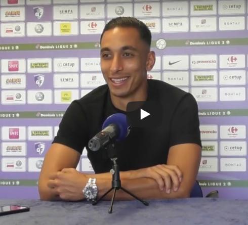 Conférence de presse avant GF38 – Clermont Foot avec Malek Chergui