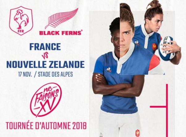 Déjà 15 000 spectateurs pour le prochain France – Nouvelle-Zélande au Stade des Alpes