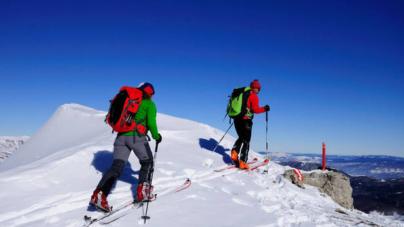Ski de randonnée: un sport fait pour les débutants en ski