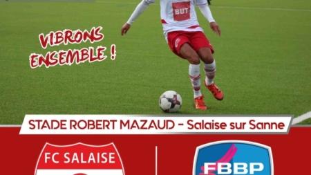 Jérémy De Sousa (FC Salaise) : «le groupe est prêt à faire un gros match»