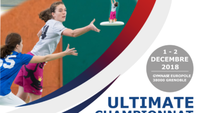 Championnat de France d'ultimate « indoor » féminin ce week-end à Grenoble
