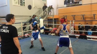 Les boxeurs du Ring Grenoblois à leur avantage