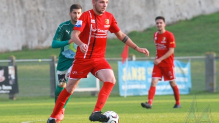 Football Côte Saint-André : le groupe contre le FC Annecy B