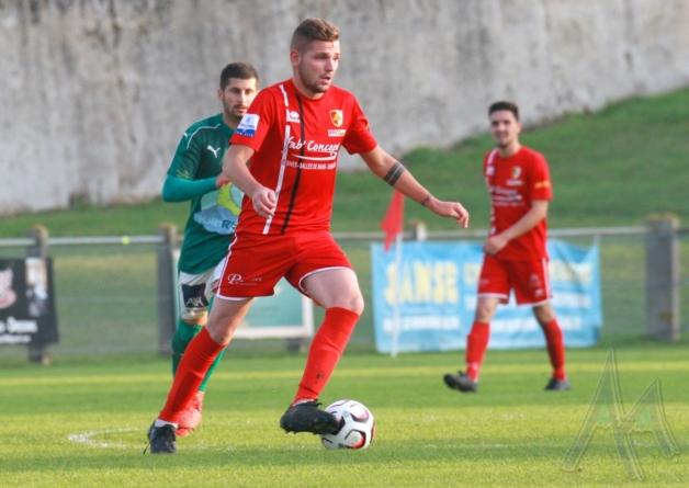 Football Côte Saint-André : le groupe contre le FC Annecy B