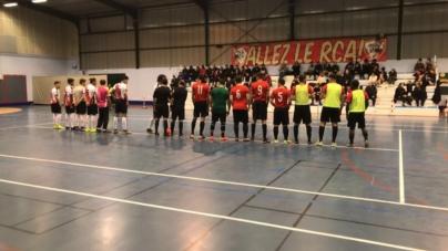 Défaite de Vie et Partage Futsal en tour de cadrage de la coupe nationale