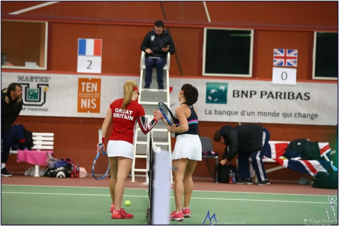 Master U BNP Paribas : toutes les photos de France – Grande Bretagne