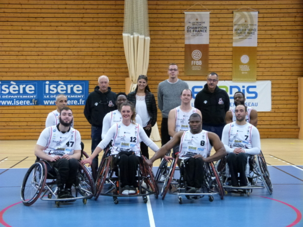 Meylan Grenoble Handibasket s'incline pour la 1ere fois de la saison
