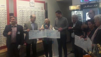 Retour en vidéo sur la remise des fonds de l'Echirolloise 2018