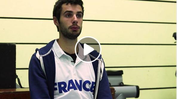 Master U BNP Paribas : Julien Eon se confie avant cette Coupe Davis Universitaire