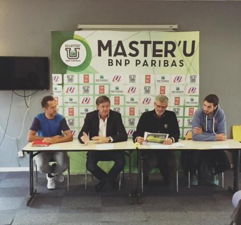 Julien Benneteau parrain de la 13e édition du Master'U BNP Paribas