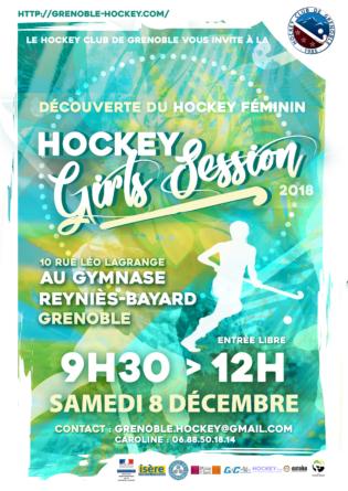 «Hockey Girls Session» par le HC Grenoble le samedi 8 décembre