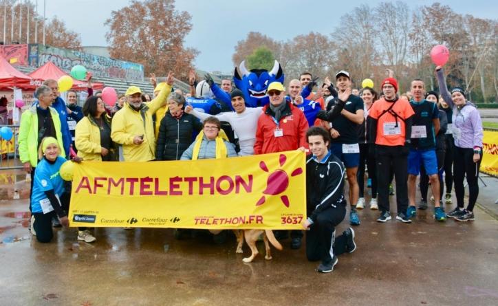 Plus de 170 coureurs lors des 5km du Téléthon