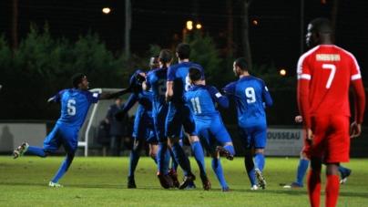 FC Échirolles : le groupe face au GF38 B