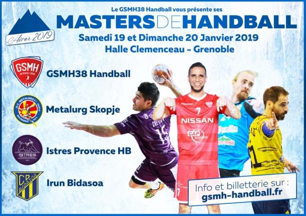 Les Masters de handball du GSMH38, c'est dans 10 jours