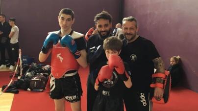 Sirajoudin Mairkaev (GUC Bando Kick Boxing) champion régional