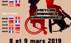 Euroleague 3 de handibasket les 8 et 9 mars prochains à Meylan