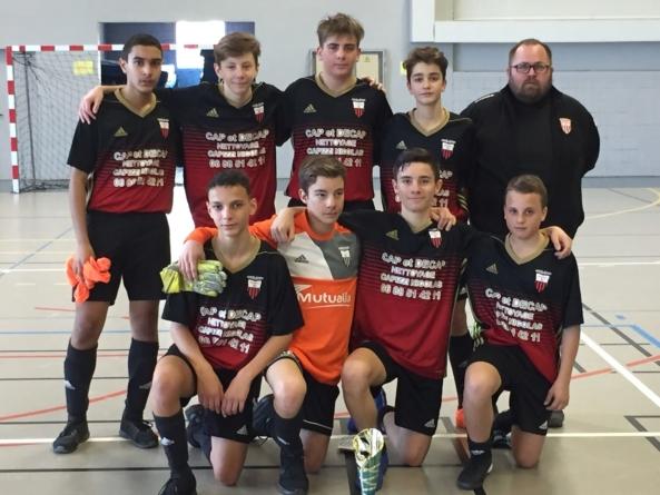 #Futsal : Deux Rochers champion de l'Isère en U15
