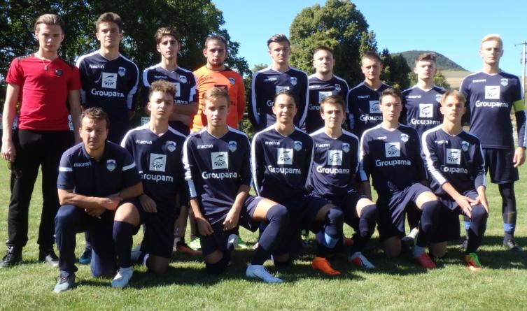 D2 – Match au sommet pour les U19 du FC Sud Isère