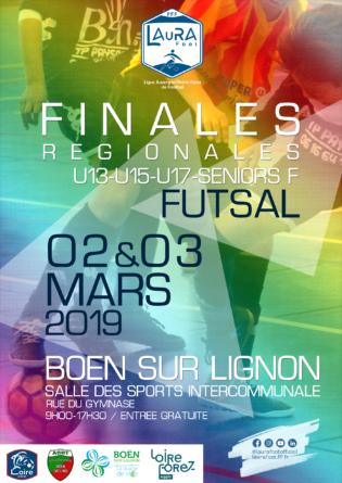 Le programme des finales régionales de Futsal