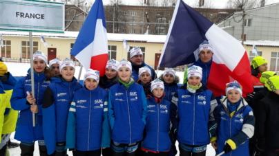 Des jeunes biathlètes du GUC Grenoble Ski ont découvert la Russie