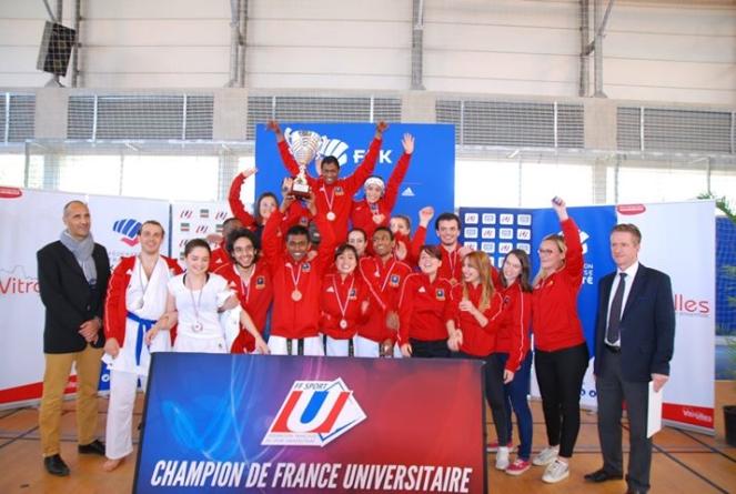France U Karaté à Vitrolles : l'Université Grenoble Alpes obtient 9 médailles