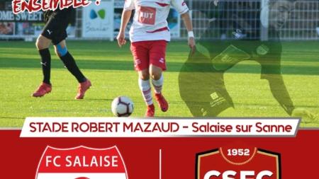 Le FC Salaise reçoit Cluses-Scionzier ce samedi