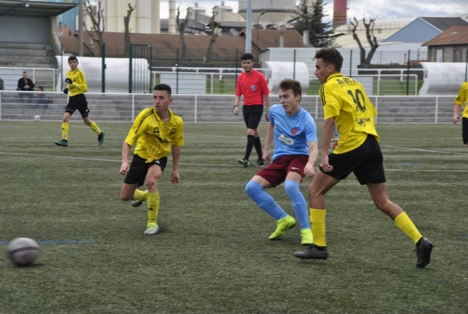 U17 ES Veauche- FC Bourgoin-Jallieu en images