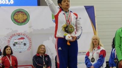 Quatre médailles pour Edith Guennec au championnat d'Europe de Force Athlétique