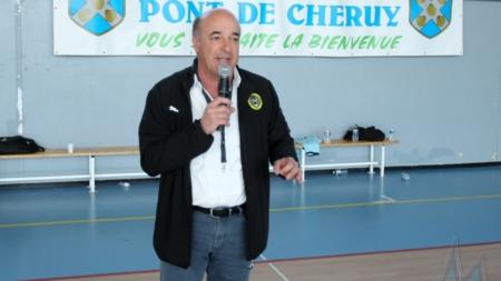 Marc Rossillon (Président FC Chavanoz) :  «Fier de mon équipe»