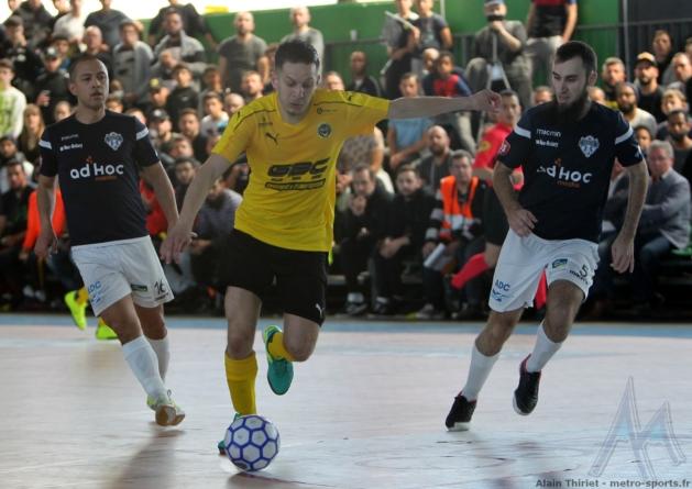 #Futsal – Le mano a mano se poursuit entre Chavanoz et ALF en R1