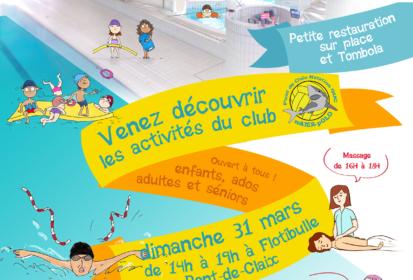 Allez découvrir les activités du Pont-de-Claix Natation GUC Water-Polo