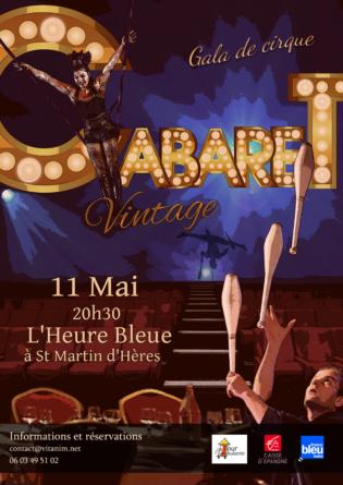 L'école de circque Vit'Anim va tenir son gala à l'Heure Bleue (Saint-Martin d'Hères)
