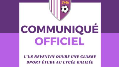 L'US Reventin ouvre une section sport-étude au Lycée Galilée