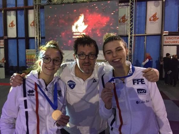 #Escrime Deux médaillées grenobloises aux Championnats d'Europe