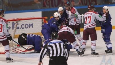 Hockey-sur-glace : l'équipe de France défaite en prolongation par la Lettonie