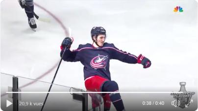 Alexandre Texier s'offre un doublé et une qualification en NHL