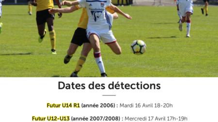 Détections au Chambéry Savoie Football