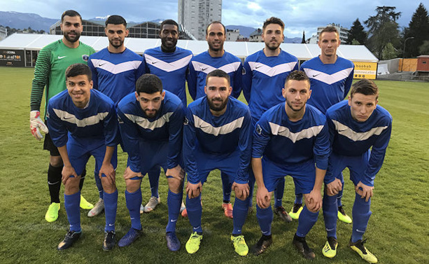 Coupe UEFA des Région – La sélection LAuRA Foot battue