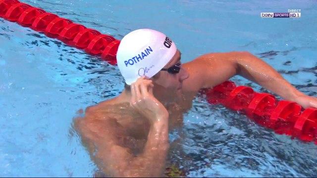 Jordan Pothain champion de France du 200m NL